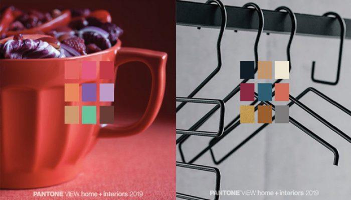 As apostas de cores da Pantone na decoração de interiores em 2019